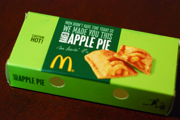 McDonald's apple pie a mom replacement | FoodHuddle